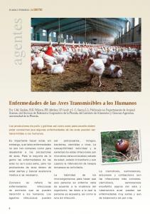 Enfermedades de las Aves Transmisibles a los Humanos