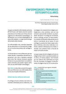ENFERMEDADES PRIMARIAS OSTEOARTICULARES