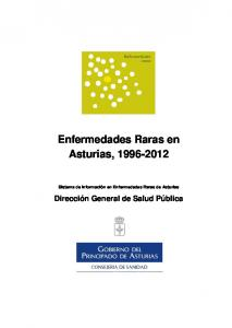 Enfermedades Raras en Asturias,