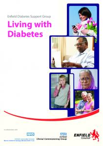 Enfield Diabetes Support Group Living with Diabetes