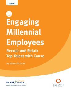 Engaging Millennial Employees