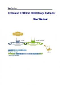 EnGenius ERB M Range Extender. User Manual