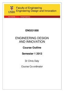 ENGINEERING DESIGN AND INNOVATION