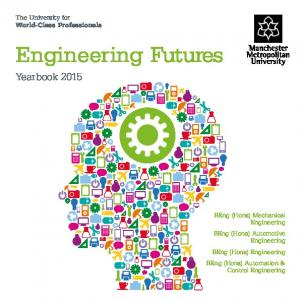 Engineering Futures. Yearbook The University for World-Class Professionals