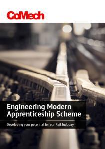 Engineering Modern Apprenticeship Scheme