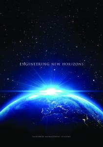 ENGINEERING NEW HORIZONS
