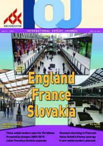 England rance slovakia. Three outlet centers open for Christmas Ownership changes Johor Premium Outlets expands