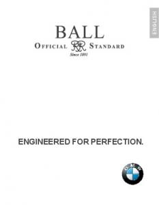 ENGLISH ENGINEERED FOR PERFECTION