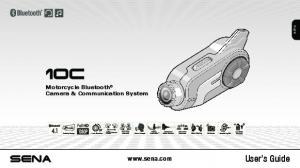 English. Motorcycle Bluetooth Camera & Communication System. User s Guide