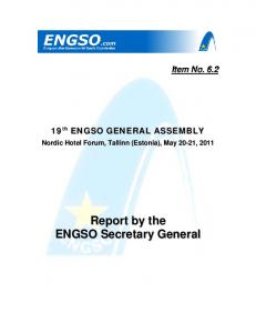 ENGSO GENERAL ASSEMBLY