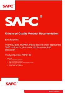 Enhanced Quality Product Documentation