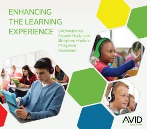 ENHANCING THE LEARNING EXPERIENCE