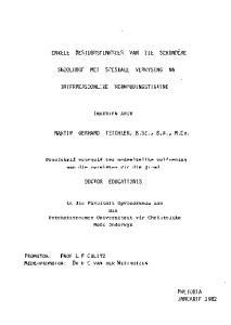 ENKELE BESTUURSFUNKSIES VAN DIE SEKONDERE SKOOLHOOF MET SPESIALE VERWYSING NA. MARTIN GERHARD TEICHLER, B.Sc., B.A., M.Eo