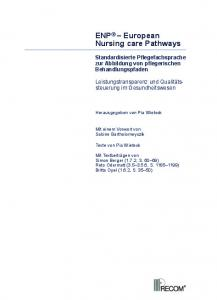 ENP European Nursing care Pathways