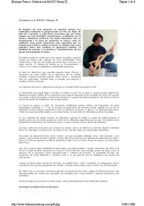 [Enrique Franco: Guitarra con BASIC Stamp II]