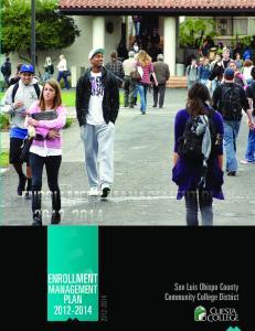 Enrollment management Plan