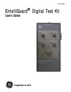 EntelliGuard Digital Test Kit