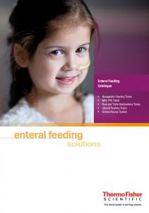 enteral feeding solutions Enteral Feeding Catalogue