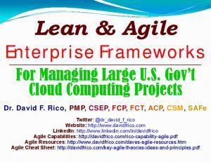 Enterprise Frameworks