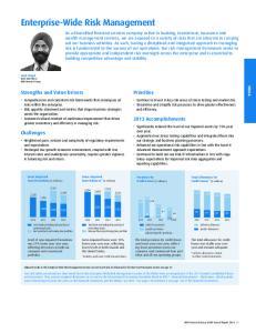 Enterprise-Wide Risk Management