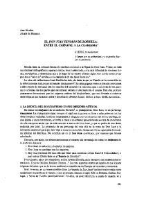 ENTRE EL CARNAVAL Y LA CUARESMA*