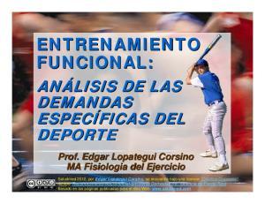 ENTRENAMIENTO FUNCIONAL: