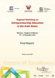Entrepreneurship Education in the Arab States