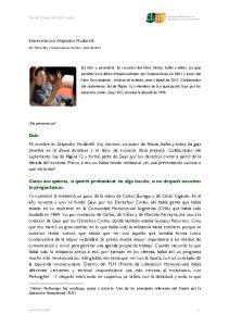 Entrevista con Alejandro Modarelli