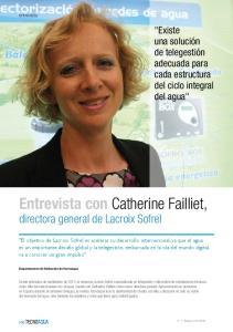 Entrevista con Catherine Failliet, directora general de Lacroix Sofrel