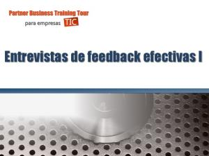 Entrevistas de feedback efectivas I