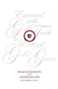 Entrusted. with ruth. God st. to Extend. G od s Grace. inauguration. of the