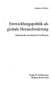Entwicklungspolitik als globale Herausforderung