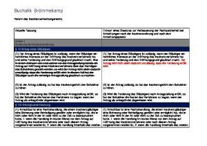 Entwurf eines Gesetzes zur Verbesserung der Rechtssicherheit bei Anfechtungen nach der Insolvenzordnung und nach dem Anfechtungsgesetz