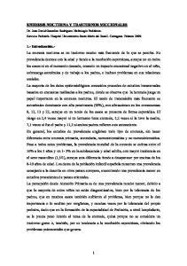 ENURESIS NOCTURNA Y TRASTORNOS MICCIONALES