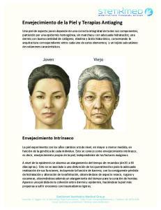 Envejecimiento de la Piel y Terapias Antiaging