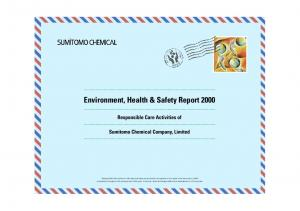 Environment, Health & Safety Report 2000
