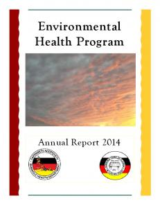 Environmental Health Program