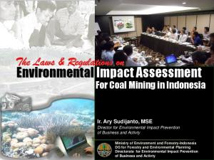 Environmental Impact Assessment For Coal Mining in Indonesia