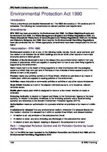 Environmental Protection Act 1990