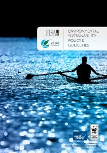 ENVIRONMENTAL SUSTAINABILITY POLICY & GUIDELINES