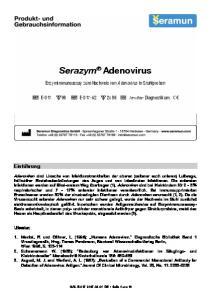 Enzymimmunoassay zum Nachweis von Adenovirus in Stuhlproben
