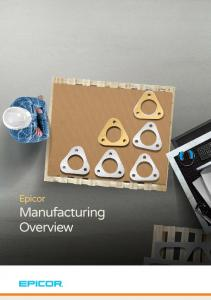 Epicor Manufacturing Overview