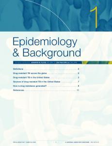 Epidemiology & Background