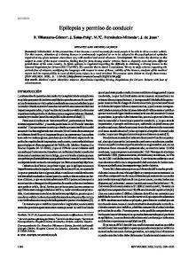 Epilepsia y permiso de conducir