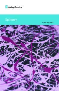 Epilepsy. clinician guide