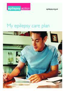 epilepsy.org.uk My epilepsy care plan