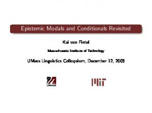Epistemic Modals and Conditionals Revisited