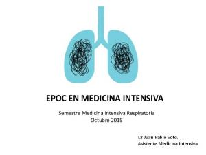 EPOC EN MEDICINA INTENSIVA