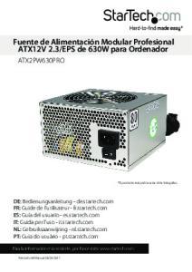 EPS de 630W para Ordenador