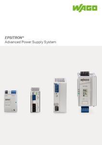 EPSITRON Advanced Power Supply System
